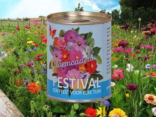 Festival bloemcadeau